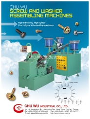 Screw and washer assembly machines