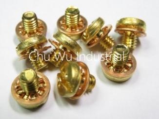 SEMS screws - tooth lock washer