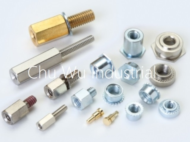 Clinching parts/ turning parts