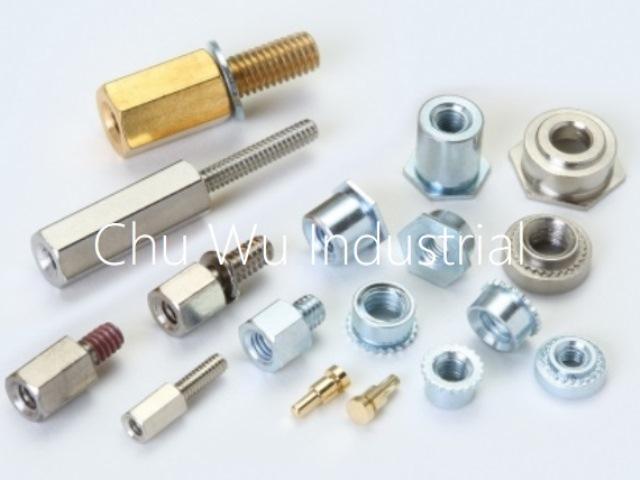 Clinching parts/ turning parts